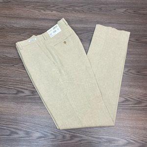 Jos A Bank 1905 NWT Light Tan Cotton Pants 34